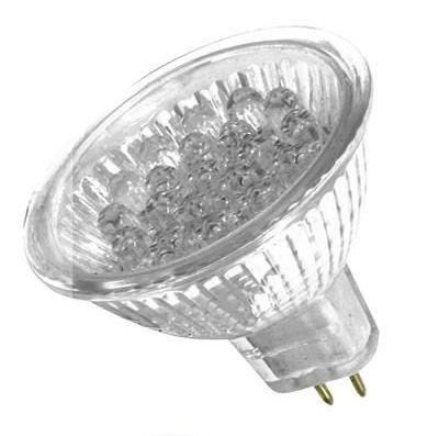 Lâmpada LED  1W Dicróica 18 LEDs Branca 12V G5.3