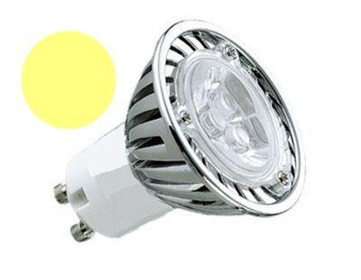 LL04 - Lâmpada Dicróica Led MR16 Gu10 Branco Morno 3 LEDs 3000K Bivolt 1709