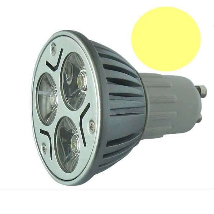 Lâmpada LED  3W Dicróica Long GU10 3000K Bivolt