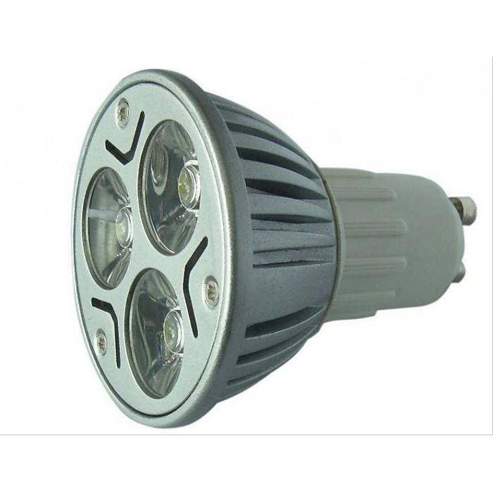 Lâmpada Dicróica Led MR16 Gu10 Branco Fria Long GU10 6000K Bivolt 1704 - LL04