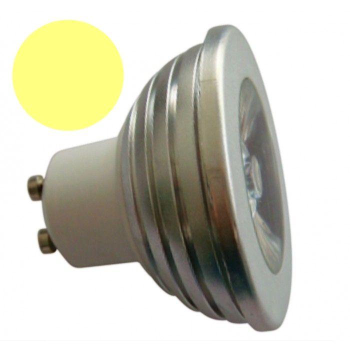 LL04 - Lâmpada Dicróica Led MR16 Gu10 Branco Morno Short 3000K Bivolt 1701
