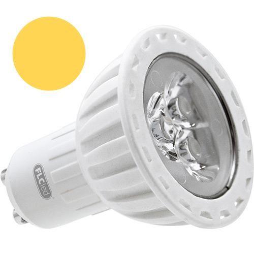 LL04 - Lâmpada Dicróica Led MR16 Gu10 Branco Morno 4,5W Bivolt