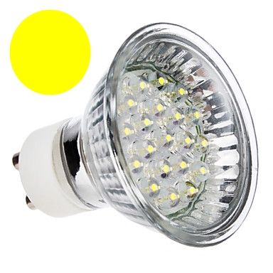 Lâmpada Dicróica Led MR16 Gu10 Branco Morno 18 Led 1W 220V