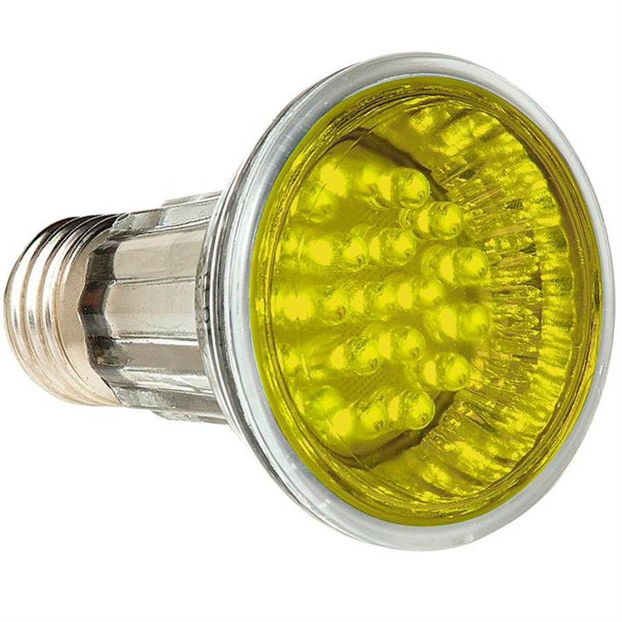 Lâmpada PAR 20 Led Amarela 2,1W 30 LEDs 127V