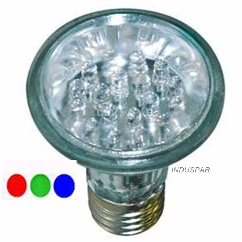Lâmpada Par 20 RGB 2,2W 18 LED 127V