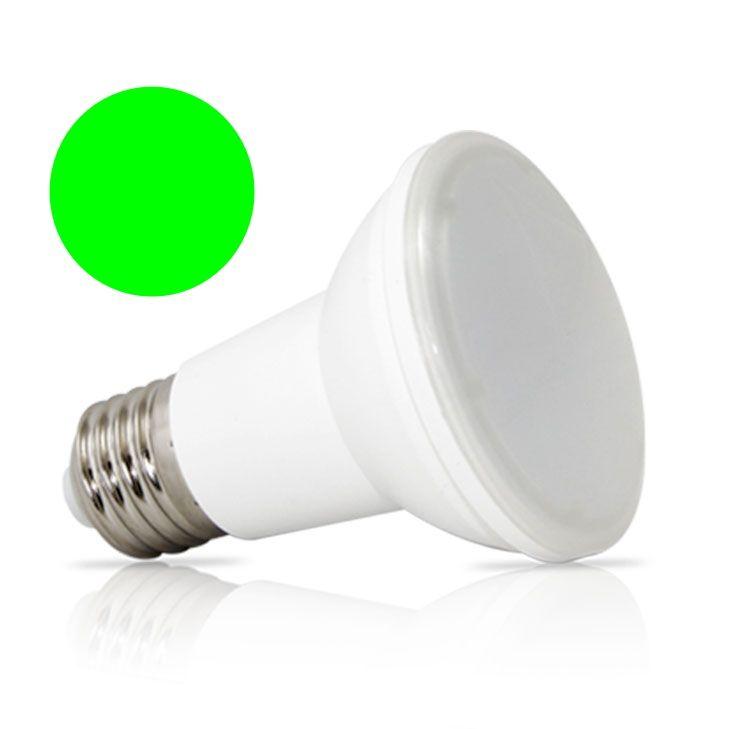 Lâmpada Par 20 Verde LED 6W  220V