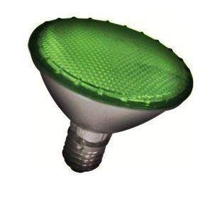 Lâmpada PAR 30 Halógena 75W E27 Verde