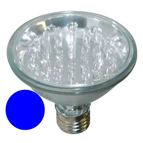 LL05 - Lâmpada PAR 38 Led Azul 1,5W 36 LED