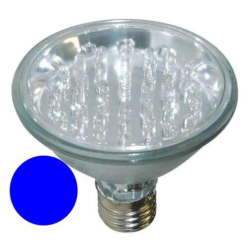 Lâmpada PAR 38 Led Azul 90 LEDS 127V