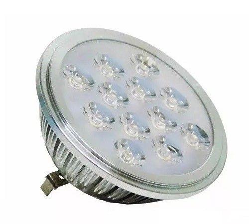 Lâmpada  AR 111 LED  12W 3000K Chrome Bivolt