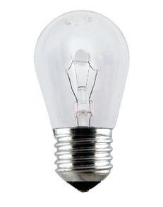 LL01T - Lâmpada TASCHIBRA Incandescente 40W Refrigeradora Clara E27 220V