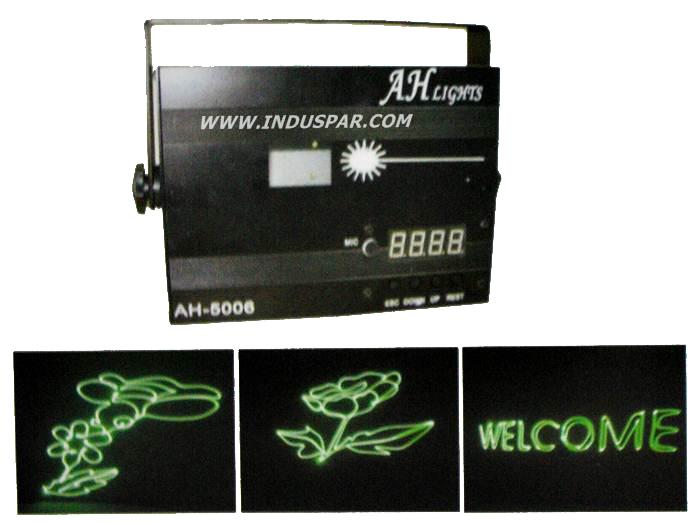 Laser Desenho Unico Verde 220V - AH-5006 - Ah Light