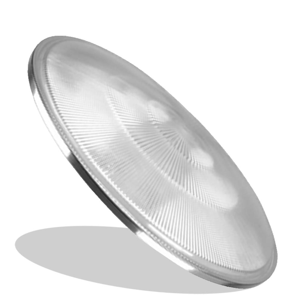 L10- Lente de Fechamento Luminária Prismática 22 Pol PS Plana Prisma com Aro