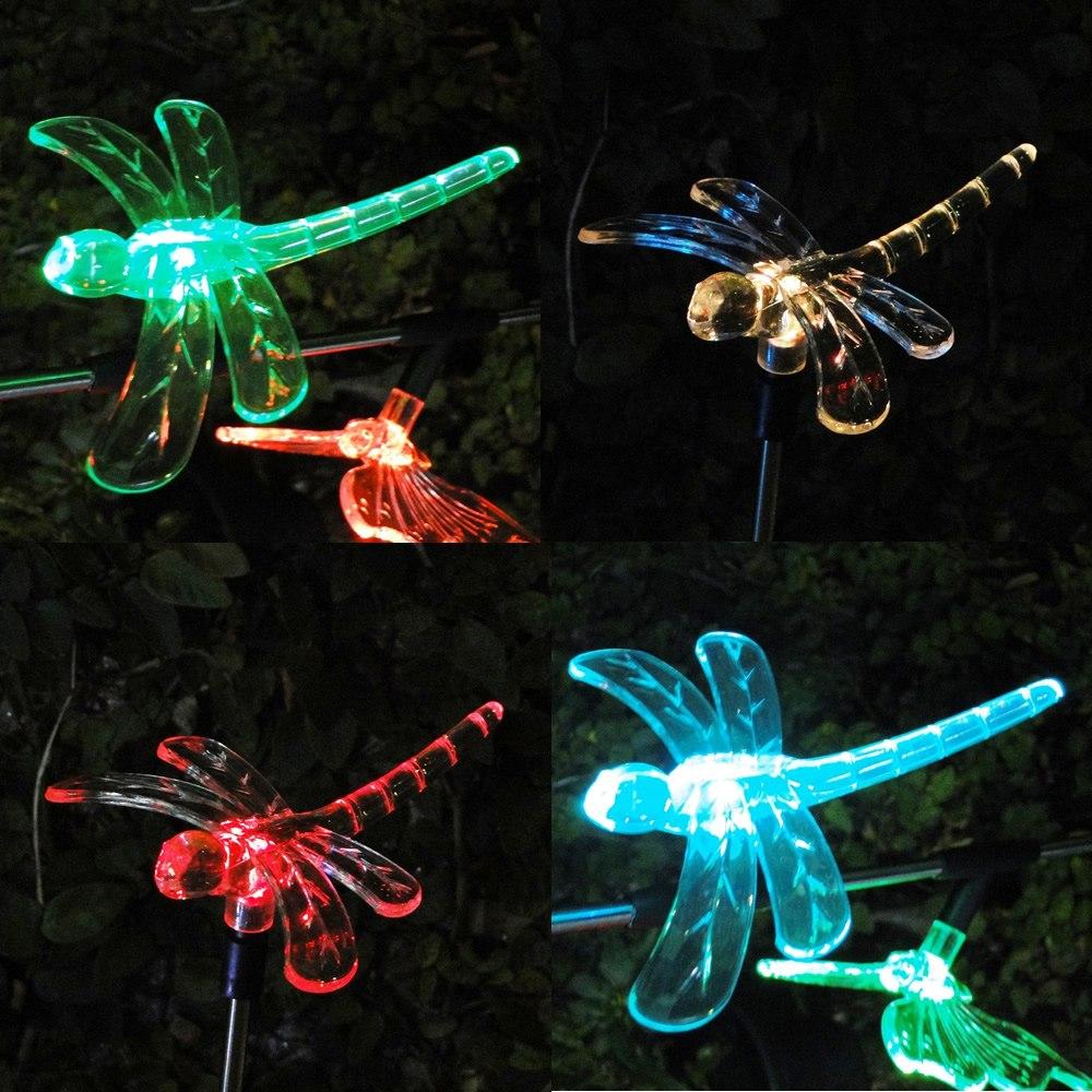 Luminária de Jardim Solar EC 21154 - Libelula 1378