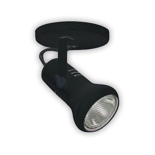 Luminária Externa tipo Spot para 1 Lâmpada PAR 20 - Preto R-549/1