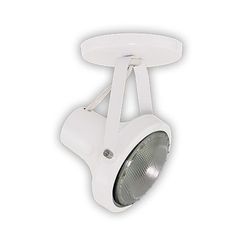 Luminária Externa tipo Spot para Lâmpada PAR 30 - Branco R-531