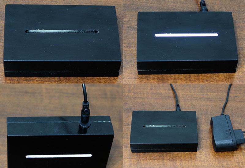 Luminária Illusion 3D Acrílico LED - Ampulheta