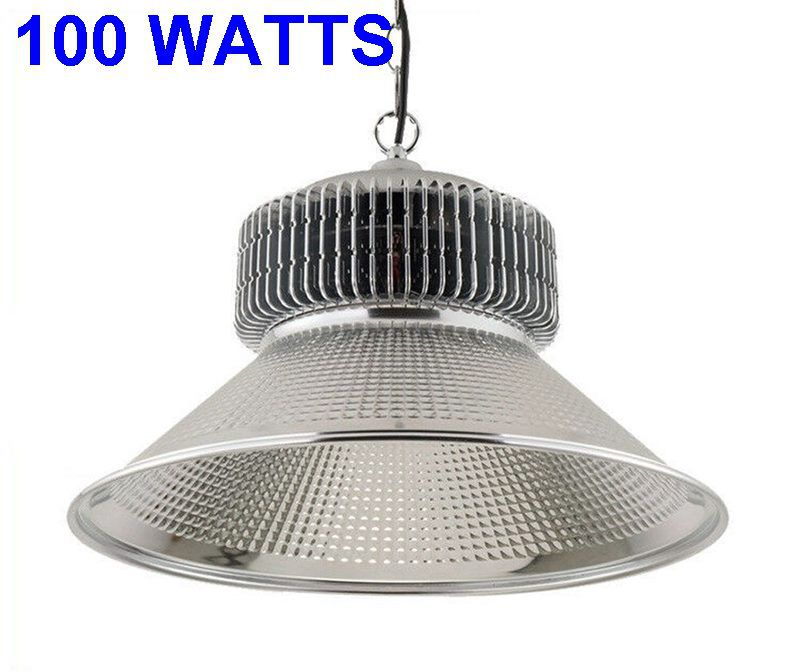 HBL-112/100W Luminária Industrial LED High Bay Light 100W Branco Frio