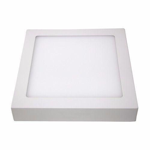 Luminária LED Downlight  18W Sobrepor Quadrado Facho 120º - 1.260 Lúmens