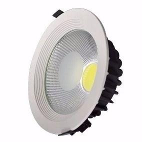 Luminária LED Downlight  30W COB PRO Embutir Redonda Facho 120º - 2.400 Lúmens