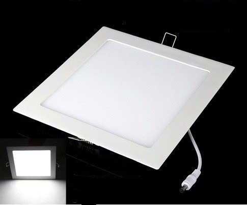 Luminária LED Embutir Quadrada 18W 6500K Bivolt XELUX