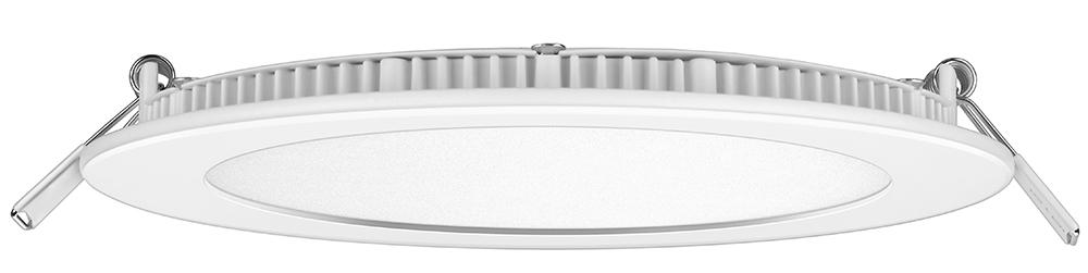 Luminária LED Embutir Redonda 12W 6500K Bivolt ELGIN Cod 12-BF