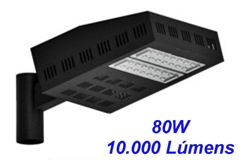 Luminaria Petala Led  80W para Postes de Jardim 10.000 Lm