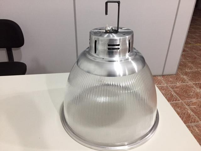 Luminária Prismática 16 Polegadas  Acrílica Pendente Led  50W com Lente Fechamento