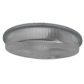Lente de Fechamento Luminária Prismática 22 Pol PS Plana Prisma Alta com Aro - L10-22PRISM/A