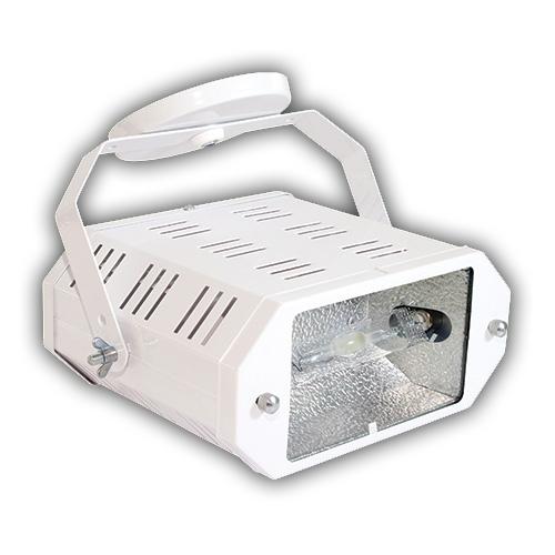 Luminária Projetor de Sobrepor com Alojamento Dirigível em Aço - Branco R-744