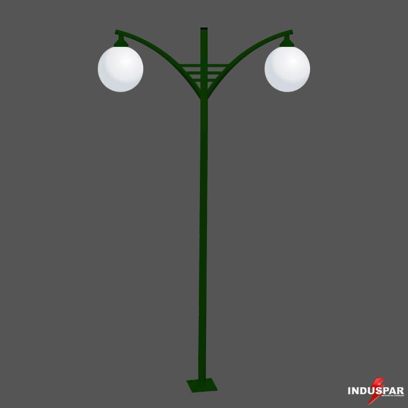 P29G/2 - Poste de Jardim Titan 05 - 2 Globos