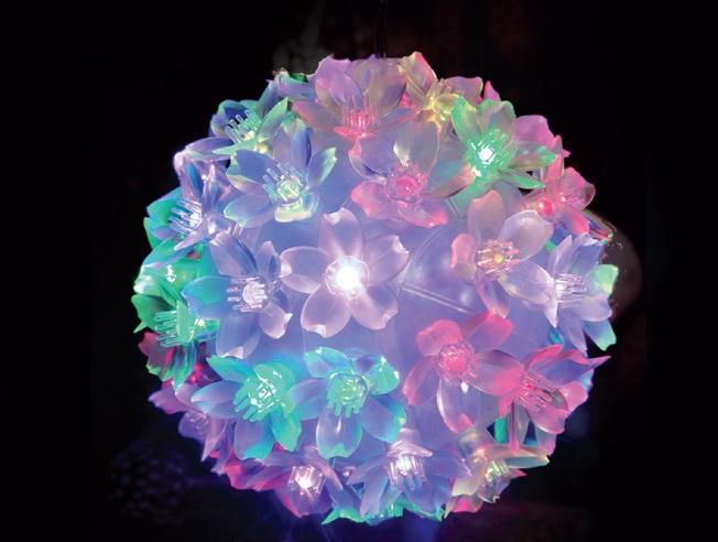Pisca - Pisca  50 LEDS Bola Colorido com 11x11CM 127V (PISCA 4 FUNÇÕES) - REF 1827