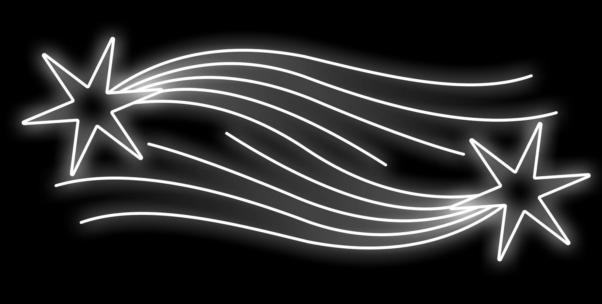 PO-020 - Painel Iluminado Led COMETA DUPLO - (Veja Opções Tamanhos)