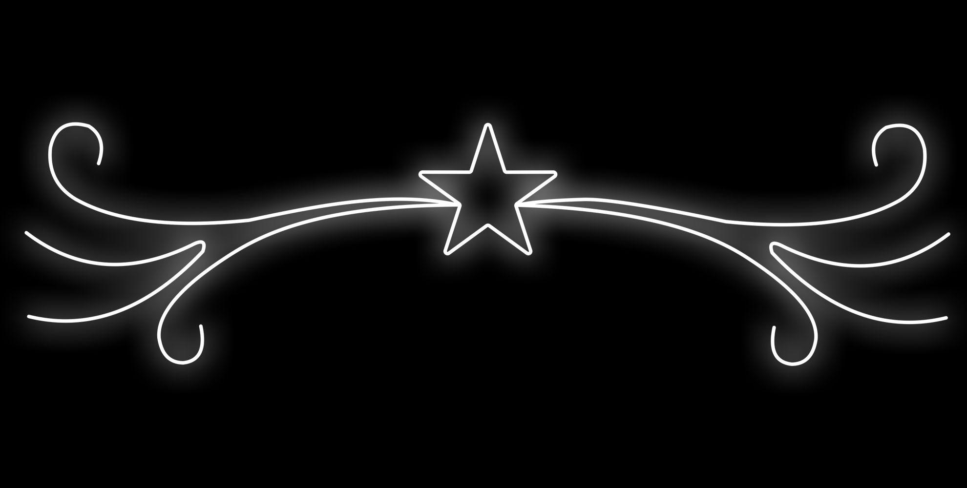 PO-025 - Painel Iluminado Led Estrela Luxo - (Veja Opções Tamanhos)