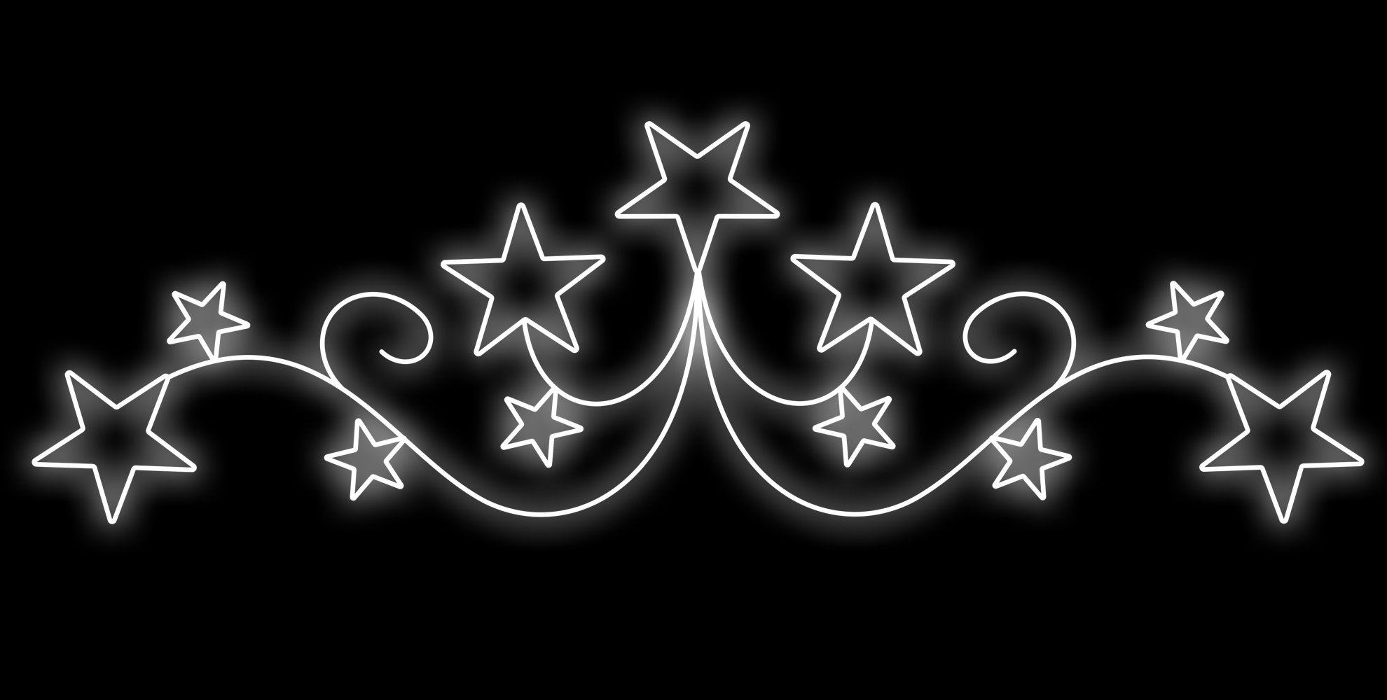 PO-052 - Painel Iluminado Led Portal Constelação e Estrelas - (Veja Opções Tamanhos)