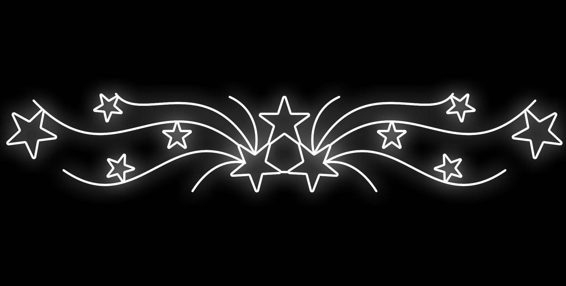PO-053 - Painel Iluminado Led estrelar  Led - (Veja Opções Tamanhos)
