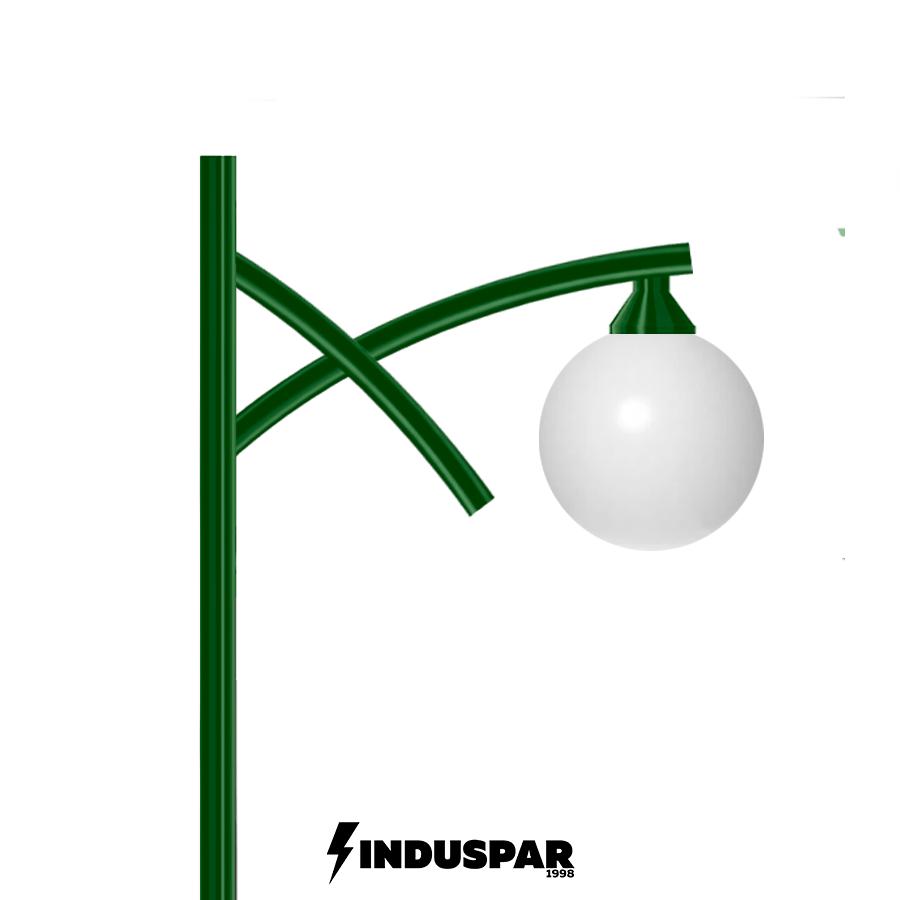 Poste de Jardim - Esmeralda 1 Globo - P13G/1