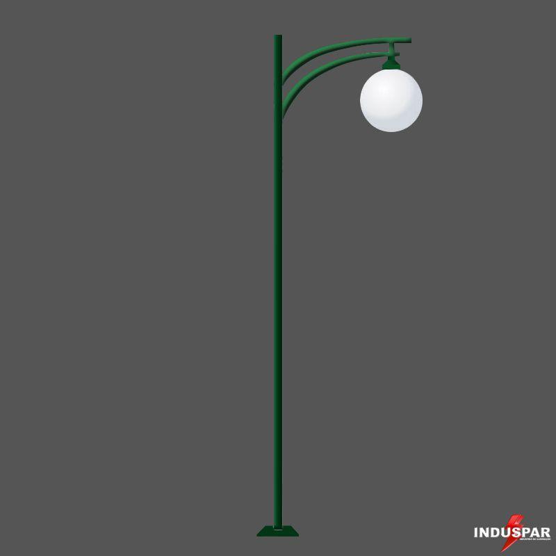 Poste de Jardim - Rubi 1 Globo - P22G/1
