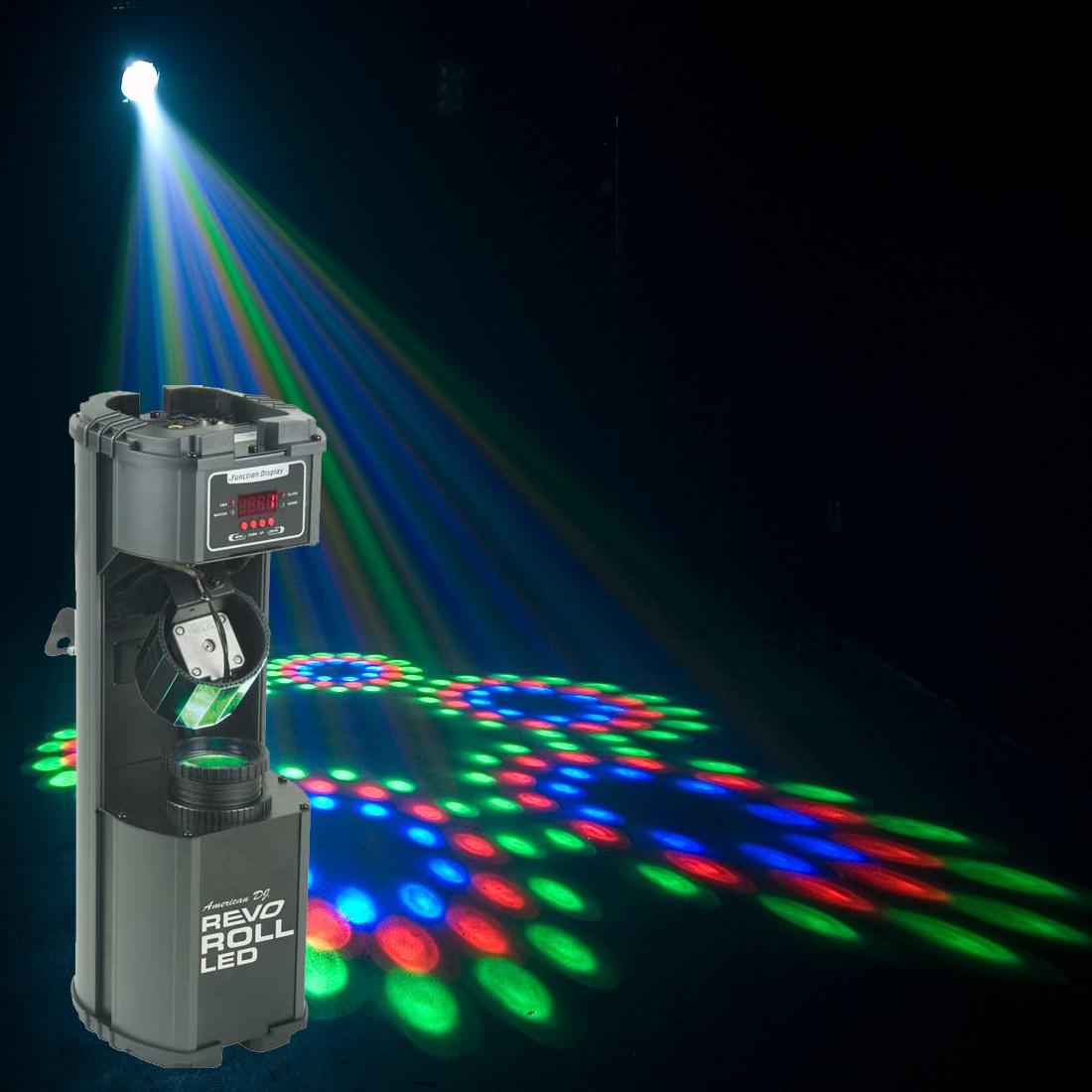 Projetor Multi Raios Revo Roll LED RGBW - American DJ