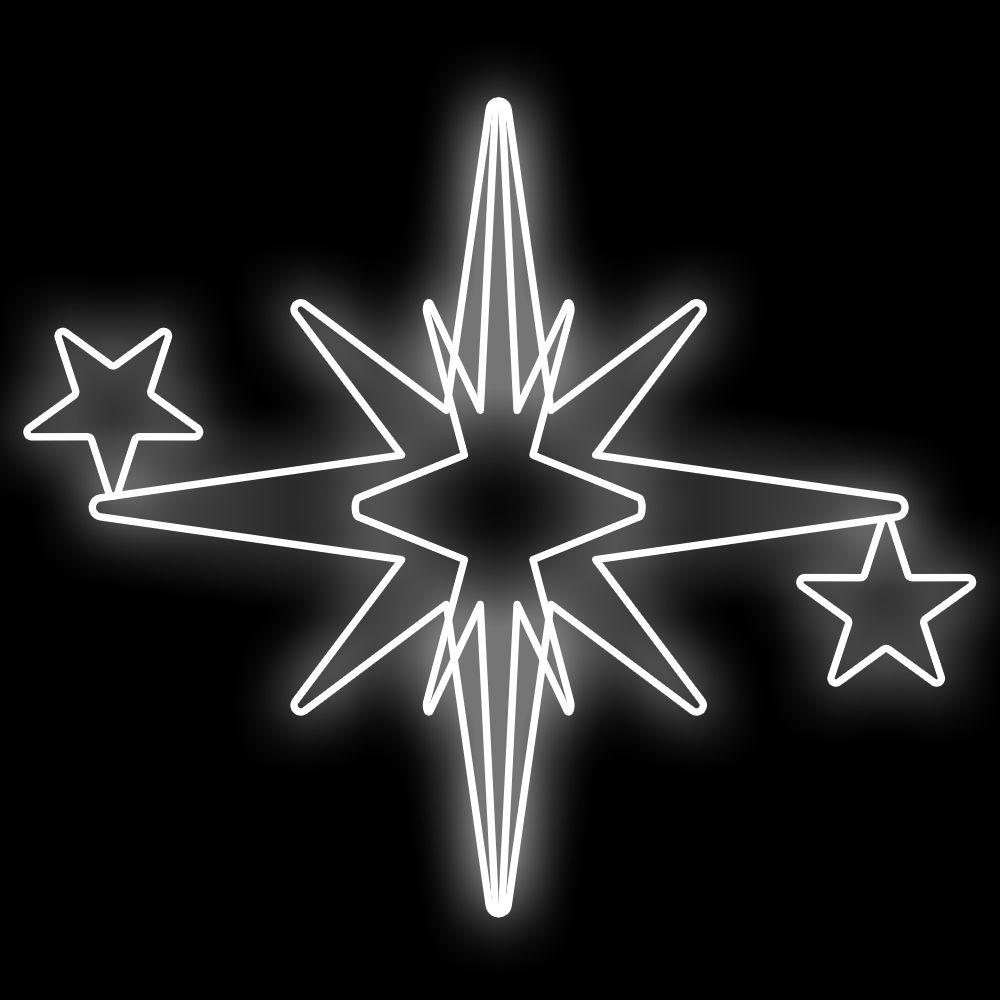 FI-002 - Estrela Maxi 5 pontas 3D (veja opções)