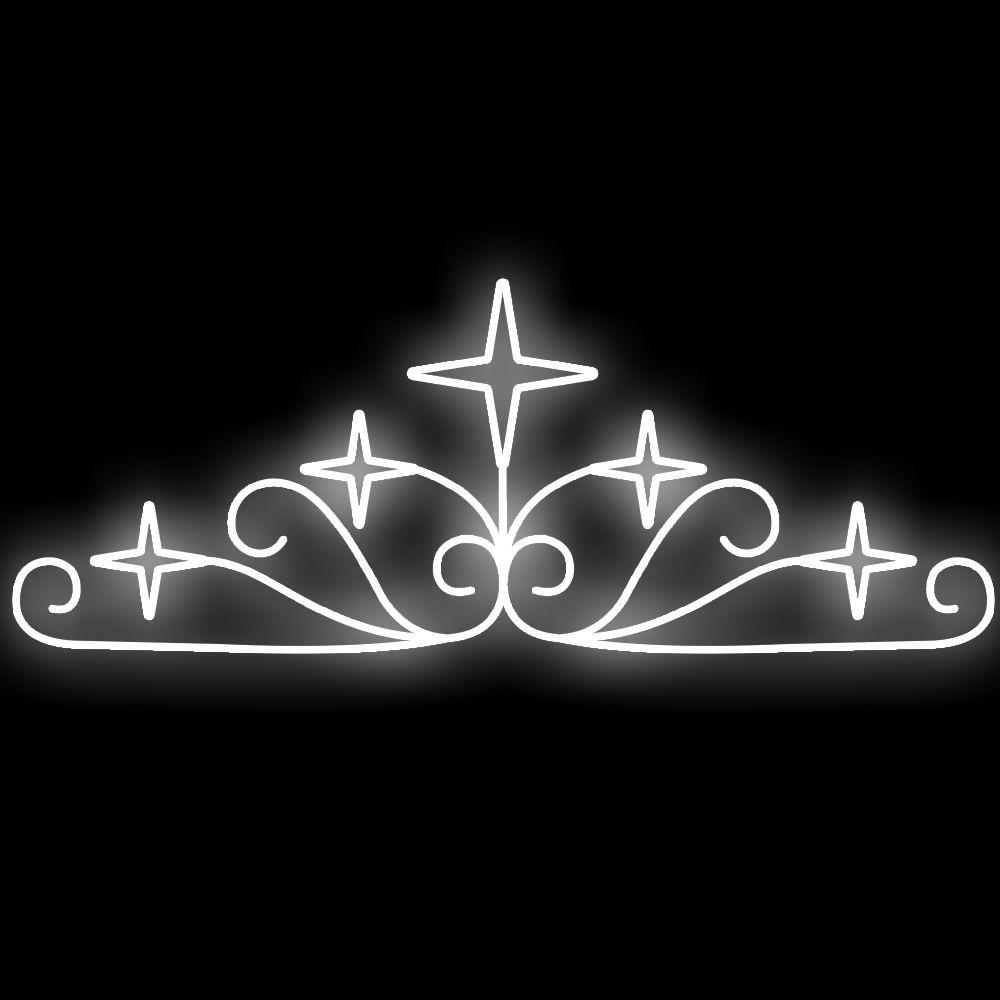 048-FA Ornato Estelar Decoração Natal Multiuso  - Tam 3,50 X 1,35 Metros