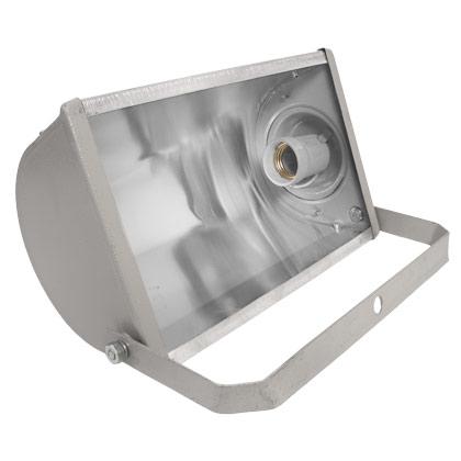 Refletor Lâmpada  150W / 160W Alumínio Retangular Soquete Rosca E-27
