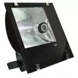 Refletor Lâmpada  400W Alumínio Simétrico E-40 Preto com alojamento
