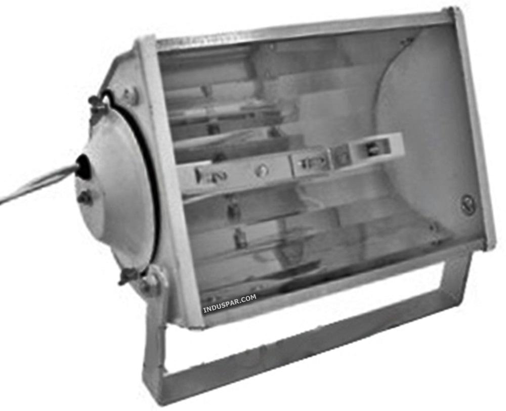 Refletor Lâmpada   70W/150W Alumínio Retangular Soquete Bipino