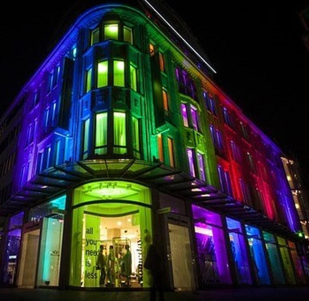 REFLETOR DE LED - 100W - RGB