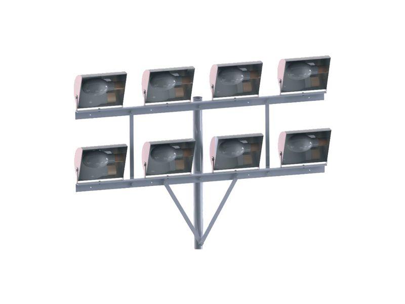 SC-08  - Suporte Cruzeta para 8 Refletores em Poste