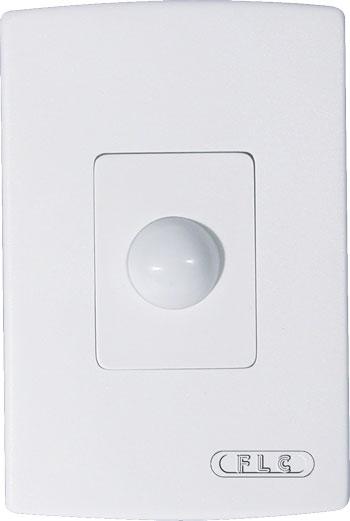 Sensor de Presença com Infravermelho + Controlador de Tempo  - uso parede - FLC - FA 15