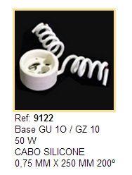 Soquete Dicroica Base GU10 - REF 9122