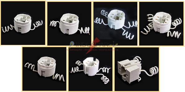 Soquetes para Lâmpadas Fluorescente Compactas 42W - REF 9126 A