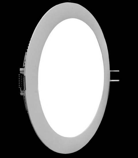 Super LED Painel Redondo 18W - Bivolt 3000K MAXTEL Cod 1418-B